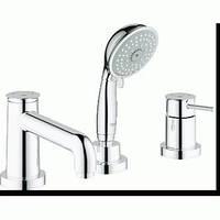 Смеситель для ванны врезной на 3 отверстия GROHE BAUCLASSIC