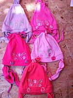 Трикотажная шапочка для девочки(-Т-62)