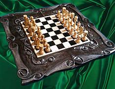 Падарок для шахматиста - резные шахматы