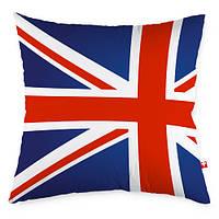 Декоративная подушка Юнион Джек флаг Великобритании