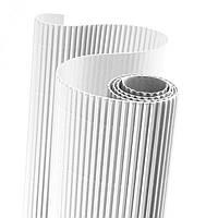 Картон гофрированный 160 гр/м2 Белый 20x30 см А4