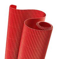 Картон гофрированный 160 гр/м2 Красный 20x30 см А4