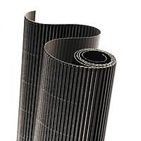 Картон гофрированный 160 гр/м2 Черный 20x30 см А4
