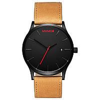 Часы мужские MVMT CLASSIC BLACK/TAN LEATHER