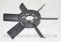 Вентилятор 6 лопастей пластик 245-1308010-А  (вир-во Україна)