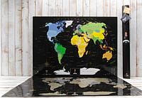 Скретч-карта мира MyMap Black Edition на английском языке