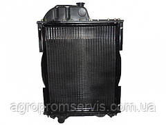 Радиатор МТЗ-80  70У-1301010 алюминиевый с мет.бачками (TM Job's)
