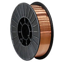Омедненная сварочная проволока ER 70S-6 ф 0.8мм 15 кг
