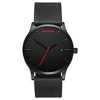 Часы мужские MVMT CLASSIC BLACK LEATHER