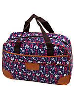 Женская дорожная сумка саквояж полиэстер dr.Bond 6601-1 blue-4