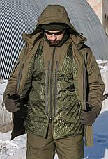 "Зимний Костюм-горка с подстежкой ""Тренд М-65"", 100%х/б палатка + синтепон, фото 3"
