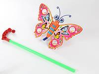 Каталка-бабочка на палочке 1200