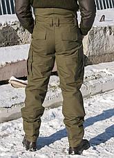 "Зимние брюки ""Тренд М-65"" 100%х/б (палаточная ткань)+синтепон, фото 3"