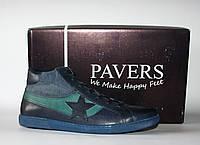 Мужские кроссовки сникеры Pavers натуральная кожа 40р