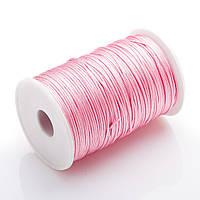 Фурнитура Нить Шамбала розовая бобина