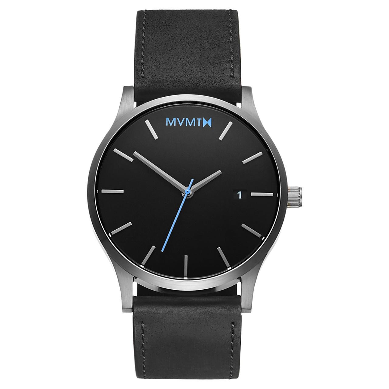 Часы мужские MVMT CLASSIC BLACK SILVER