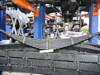 Ресора передня ЗІЛ 15 аркушів б/вушка старого зразка 130-2902011-А, фото 1