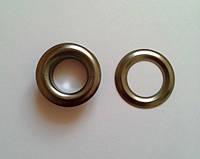 Блочка с кольцом 17 мм ( №31 ) - блэк никель