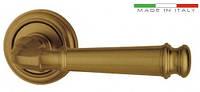Дверные ручки ALMAR MONTANA - коричневая бронза (розетка Ø52mm)