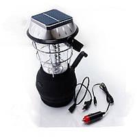 Кемпинговый динамо-фонарь на солнечной батарее Super Bright LED LaiTuo LT-768R с радио