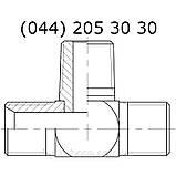 Адаптер T-образный BSP x BSP X BSPT, 7411, фото 3