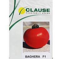 Семена томата Багира F1 (Clause) 5 г - ранний (65 дней), красный, детерминантный, круглый