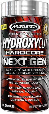 MuscleTech Hydroxycut Hardcore Next Gen 100caps