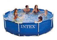 Бассейн каркасный Intex 28200 (56997) Metal Frame Pool (305 х 76 см)