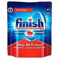 Засіб для миття посуду в посудомийній машині Finish All in 1 Neophos 27 шт