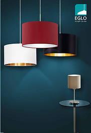 Люстры, бра Textile Luminaires 2015/16 EGLO