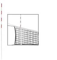 Антена (1шт) для сітки волейбольної C-3261 (скловолокно, l-1,8м, d-10мм, білий-червоний)