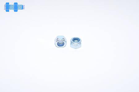 Гайка самоконтрящаяся М4 DIN 985 нержавеющая с нейлоновым кольцом