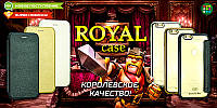 Чехол-книжка Royal Case iPhone 5 Gold