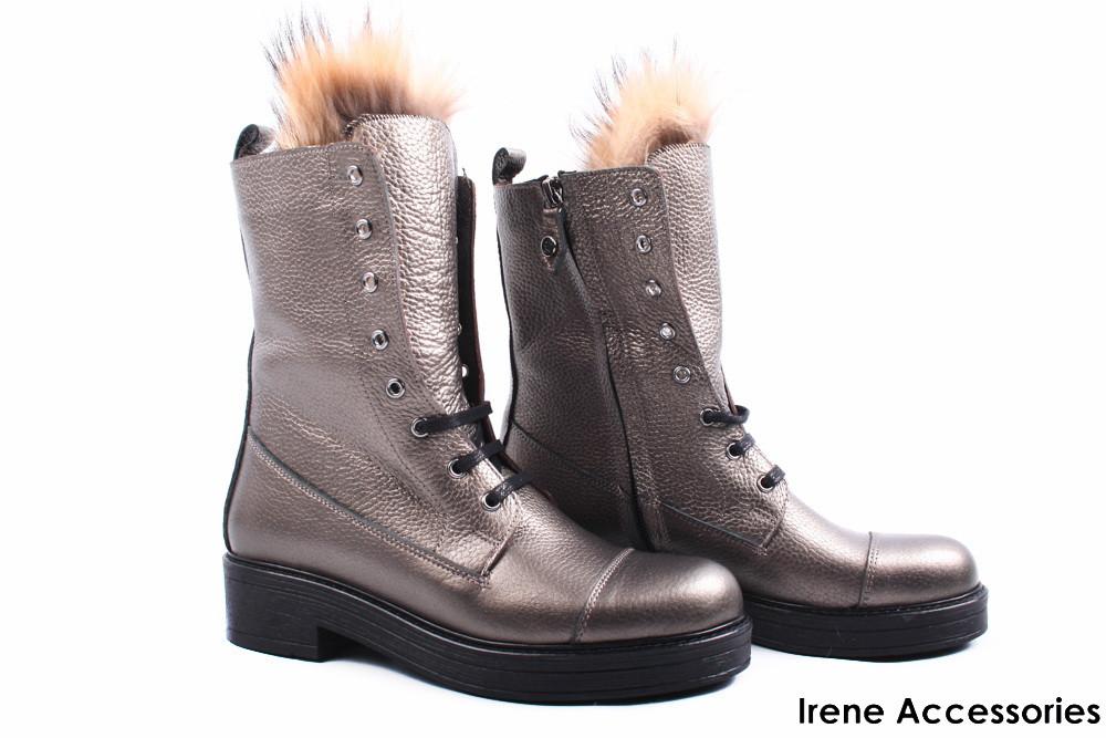 6a899beb9 Ботинки женские кожаные Alsace (ботильоны, стильные, каблук, байка,  антискользящая подошва,