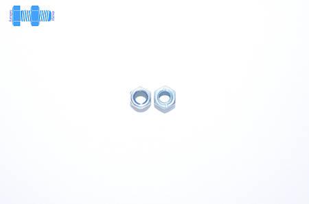 Гайка самоконтрящаяся М5 DIN 985 нержавеющая с нейлоновым кольцом