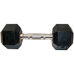 Гантель шестигранная гексагональная 17,5 кг  SC-8013-17,5