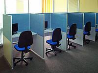 Столы для колл центра на каркасах из алюминия