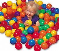 Набор мячиков для игровых центров и сухих бассейнов (диаметр 6,5 см)