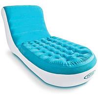 Надувное кресло-шезлонг Intex Cafe Club Chair 68880 Новинка