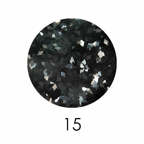 Ромбики для декора Adore 1 мм 2,5г №15