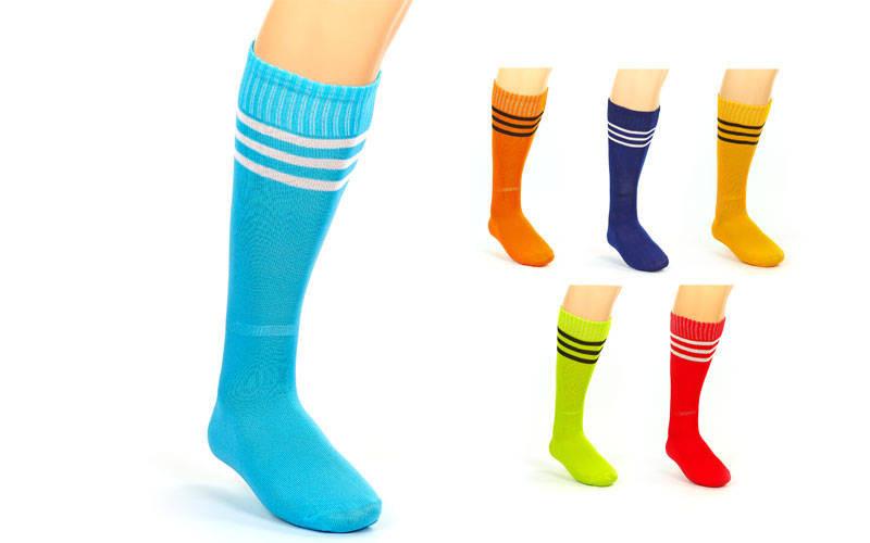 Гетры футбольные мужские нейлон, р-р 40-45 цвета в ассортименте Z