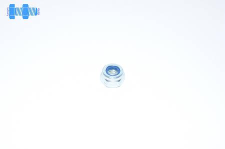 Гайка самоконтрящаяся М7 DIN 985 нержавеющая с нейлоновым кольцом