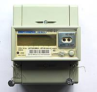 Счетчик электроэнергии однофазный многотарифный (двухзонный) CE102M R5 148-A 10-100А на дин-рейку ЭНЕРГОМЕРА, фото 1
