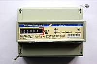 Счетчик электроэнергии трехфазный на дин-рейку ЦЭ6804-U/1 220В 10-100А 3ф.4пр. МР31 Энергомера УКРАИНА, фото 1