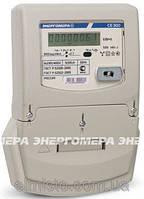 Трехфазный однотарифный электросчетчик СЕ 300 S33 146 J, 5-100А, ЖКИ, Энергомера