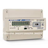 Трехфазный однотарифный электросчетчик СЕ 300 R31 146 J 230В (5-100А) на дин-рейку с ЖКИ Энергомера
