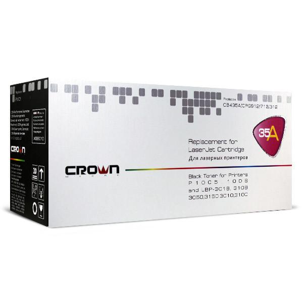 Картридж для принтера CB435A Crown