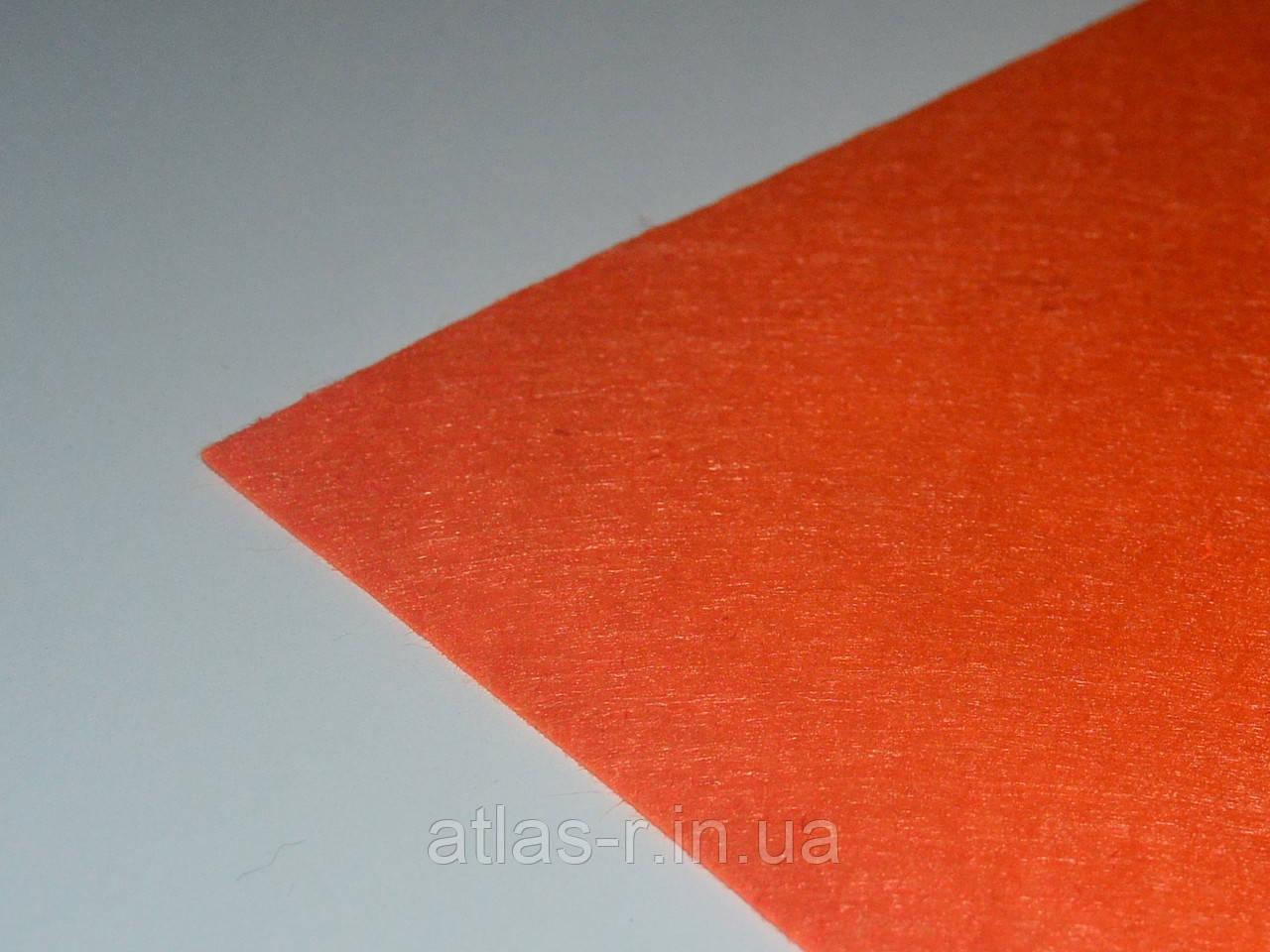Жесткий фетр для рукоделия теплый оранжажевый