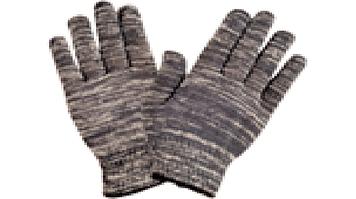 Перчатки х\б серые без точки