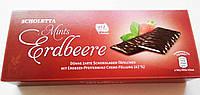 Шоколадные конфеты Scholetta Mints Erdbeere (клубника с мятой) 300 г. Германия